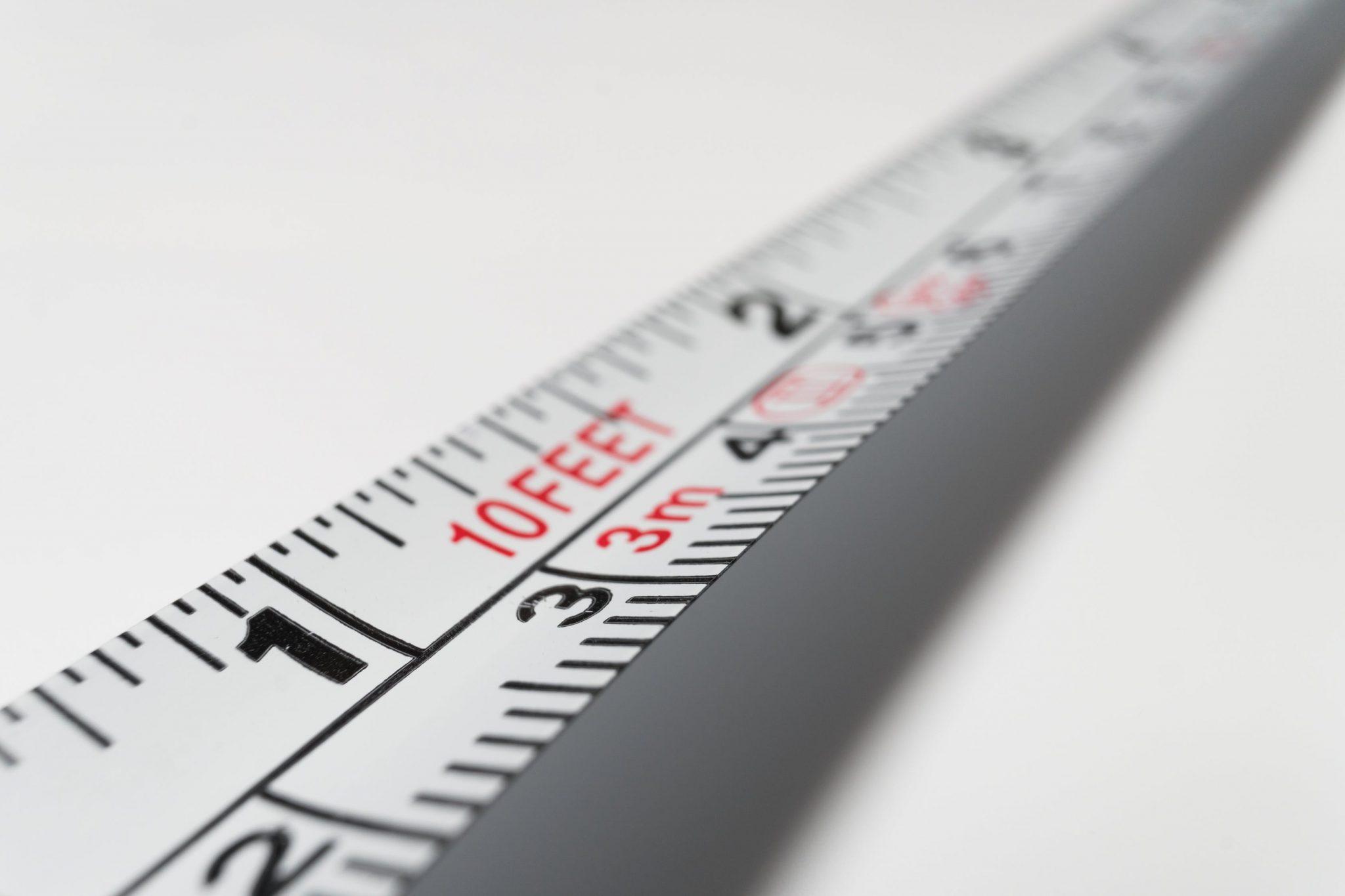 Maßeinheiten selbst ausdenken; Maßband; Meter; Längenangaben; Zeitangaben
